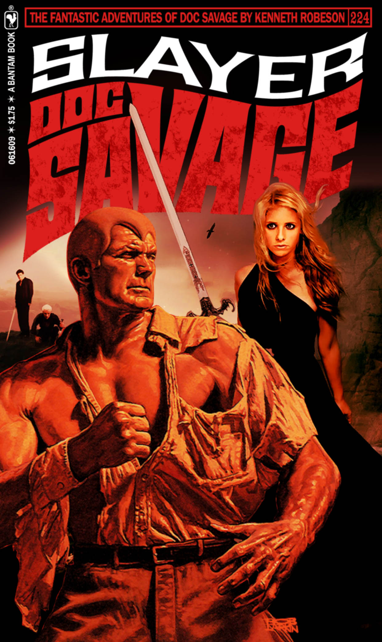 Return to the Doc Savage Fantasy Cover Gallery